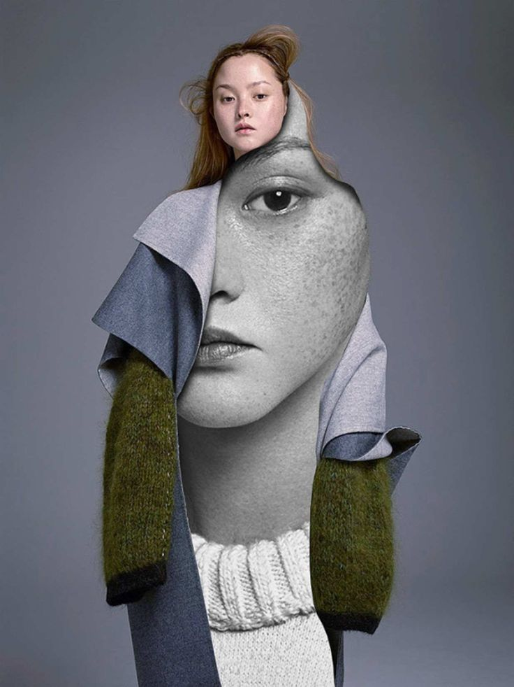 With just a conventionalutility knife, Madrid based photographer and artist Pablo Thecuadro cuts apartfashion editorials and photographs to createcollages. I love the surreal,trompe l'oeil quality to them - you can literally spend minutes just admiring each piece!