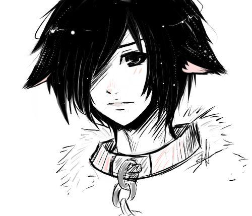 Dark Anime Neko Boy | neko boy on Tumblr