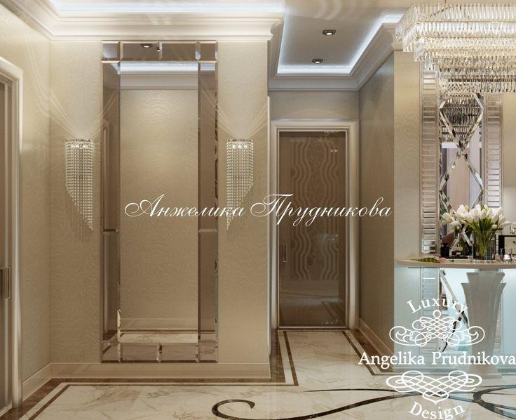 Дизайн проект интерьера квартиры в ЖК Лобачевский в стиле Ар Деко - фото