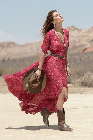 Rambling Rose Gown