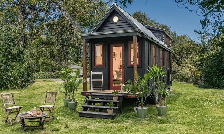 A Scandinavian-inspired tiny house built on a 8.5' x 24' trailer giving it 204 sq.ft. downstairs and an additional 42 sq.ft. of loft space.