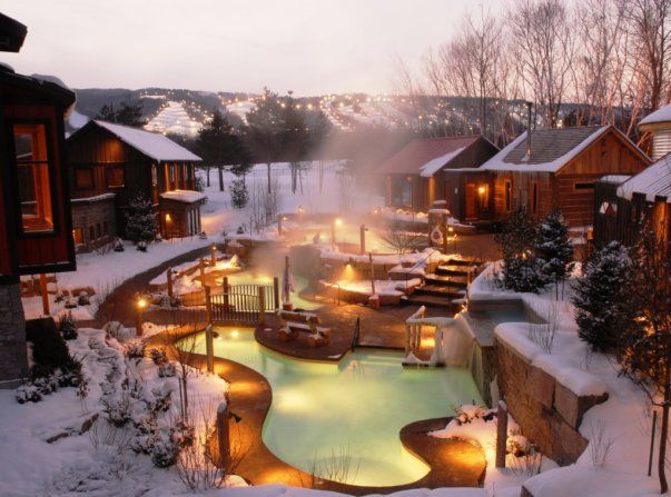 Spa Life: Le Scandinave Spa - Collingwood -This Beautiful Day
