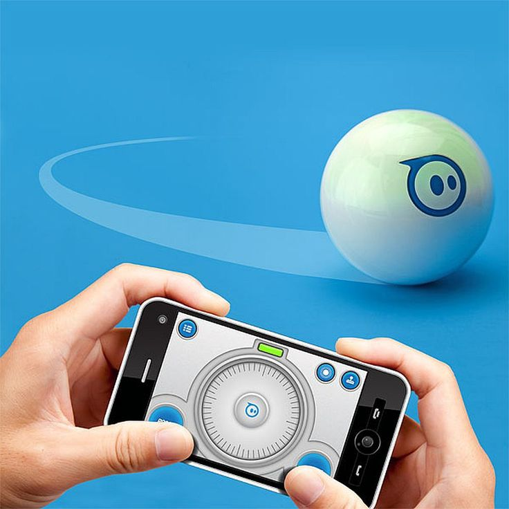 The Sphero Robotic Ball is a programmable device that you can control and manipulate at will.