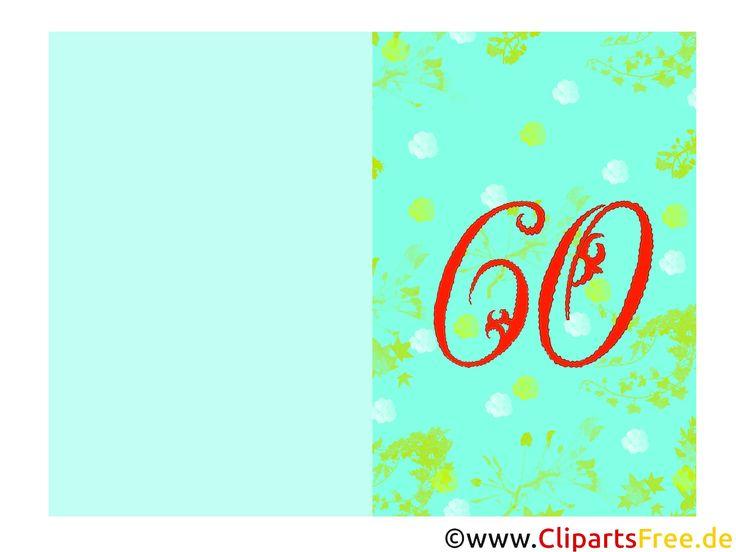más de 25 ideas increíbles sobre einladungskarten 60 geburtstag en, Einladungsentwurf