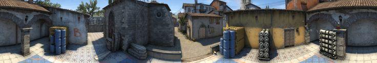 Inferno Panorama! #games #globaloffensive #CSGO #counterstrike #hltv #CS #steam #Valve #djswat #CS16