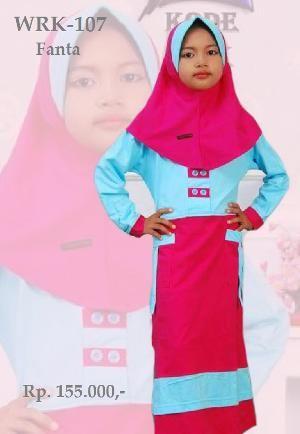 Baju Gamis Anak Perempuan WRK-107 FANTA