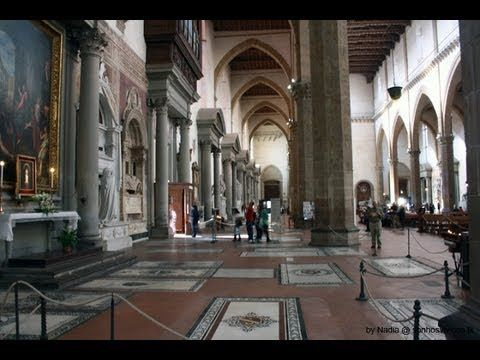 Firenze - Basilica di Santa Croce (Inside)