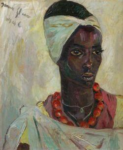 Congolese Woman,Irma Stern