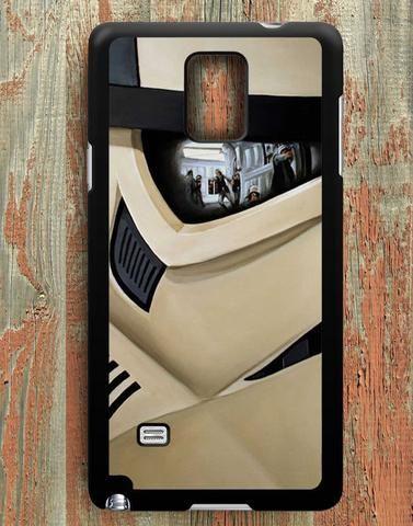 Stormtrooper Helmet Samsung Galaxy Note 4 Case