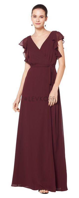 7d82c5c5a6375 LEVKOFF Bridesmaid Dress Style 7077 | Bill Levkoff Bridesmaid ...