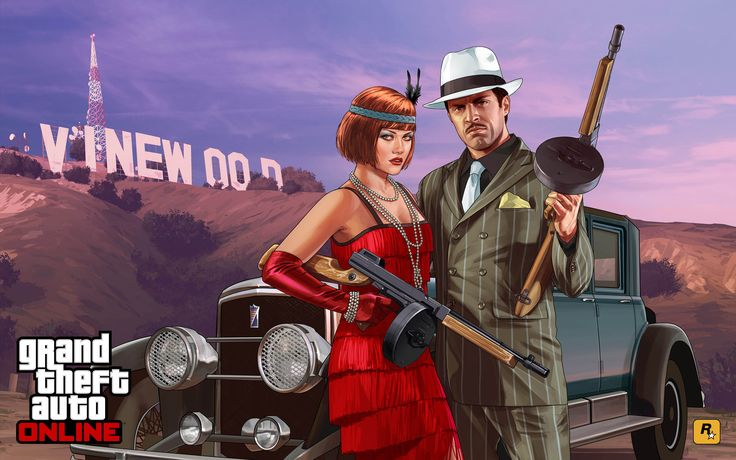 Valentine's Day Massacre Special - GTA 5 Online Update 2880x1800 wallpaper
