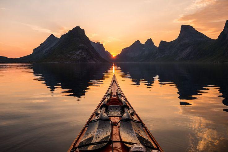 Les fjords de Norvège vus dun kayak par Tomasz Furmanek  2Tout2Rien