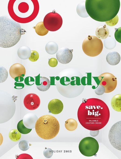 Target holiday campaign information & social media integration