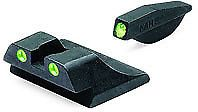 Meprolight Tru-Dot Night Sights Green Front & Rear for Ruger SR9 & : ML10993G