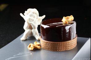 Recette de gâteau chocolat et caramel par Bruno Oger