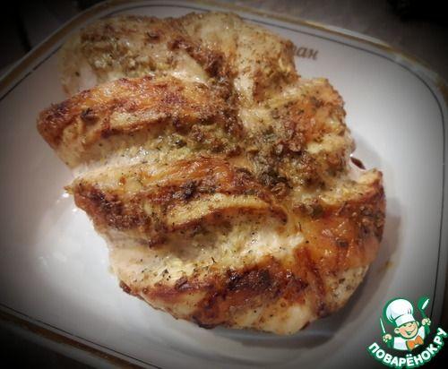 Ленивые куриные грудки - кулинарный рецепт