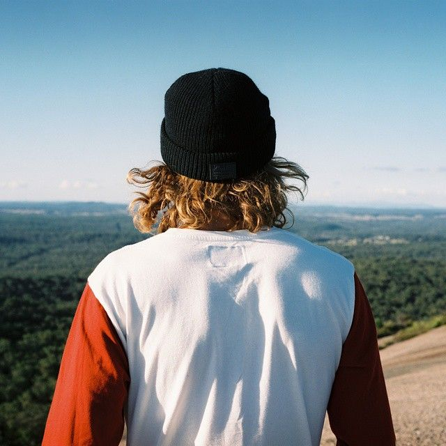 That Australian landscape though. Joey watching the world in our new Team A long sleeve Tee, available now #afends