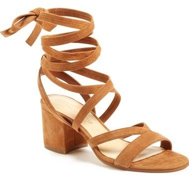 Strappy brown sandals - Ivanka Trump 'Ellyn' Lace-Up Sandal (Women)