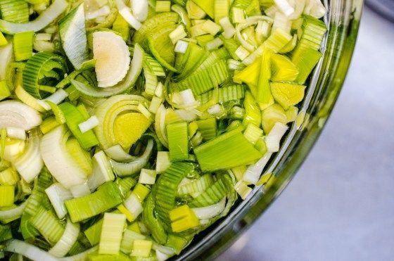 How to Cook Leeks: Sauteed Leeks and Celery / Chef Virginia Willis