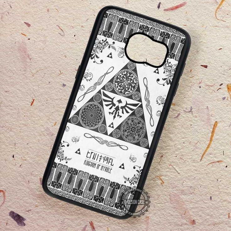 Kingdom Of Hyrule Art of Zelda - Samsung Galaxy S7 S6 S5 Note 7 Cases & Covers