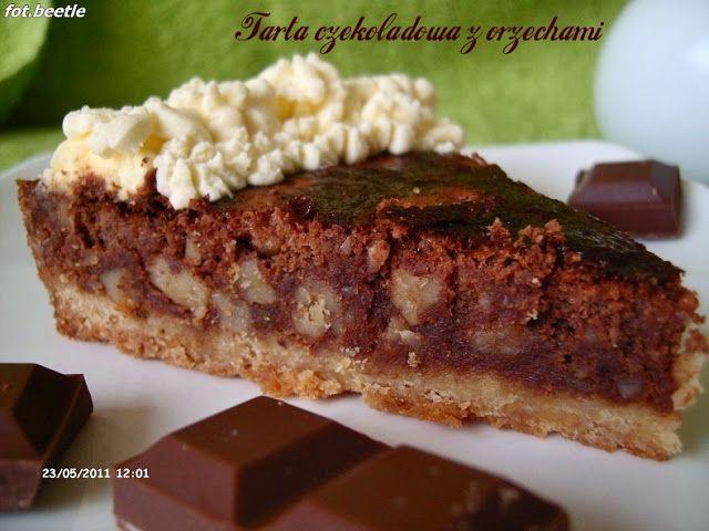 Apetyt i Smak: Tarta czekoladowa z orzechami