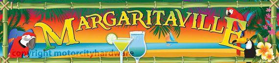 Margaritaville Garage Game Room Bar Tiki Hut by MotorCityHardware