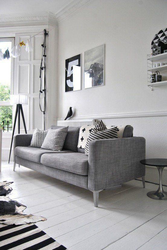 Salon, styl skandynawski