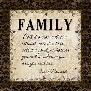 Clan. Network. Tribe. Family.