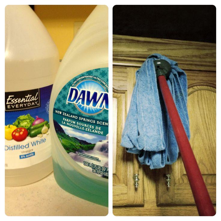 Homemade Cleaning, Cleaning Kitchen Cabinets With Dawn