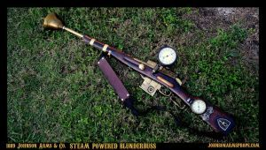 1889 Steam-Powered Blunderbuss by Johnson Arms by JohnsonArms