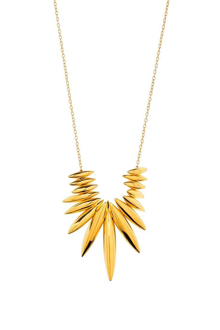 Gorjana Lori Long Necklace in Metallic Gold 45T2ziz0L