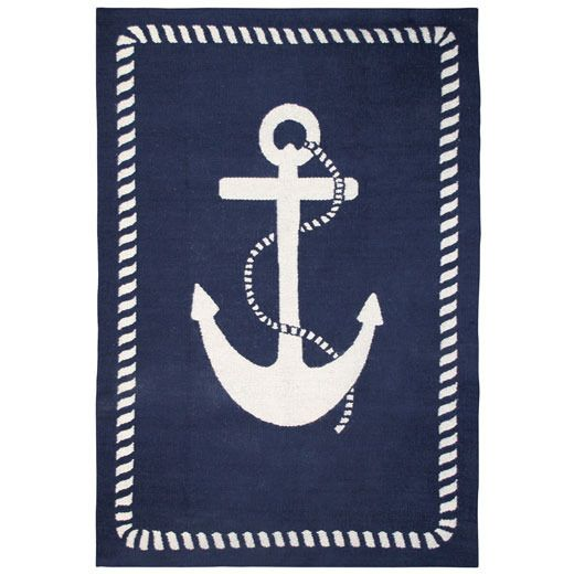 Anchor Rugs: 144 Best COASTAL STYLE RUGS 'n MATS Images On Pinterest