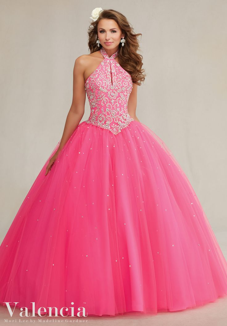 145 best Pink Quinceañera Dresses images on Pinterest | Prom party ...