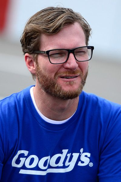 Dale Earnhardt Jr. Photos Photos - Dale Earnhardt Jr. looks on from the grid prior to the NASCAR Sprint Cup Series Goody's Fast Relief 500 at Martinsville Speedway on October 30, 2016 in Martinsville, Virginia. - NASCAR Sprint Cup Series Goody's Fast Relief 500