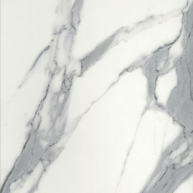 CALACUTTA GREY MATERA - A white marble with large, dark grey veins. https://www.polytec.com.au/colour/calacutta-grey/