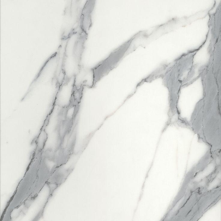 CALACUTTA GREY MATERA - A white marble with large, dark grey veins