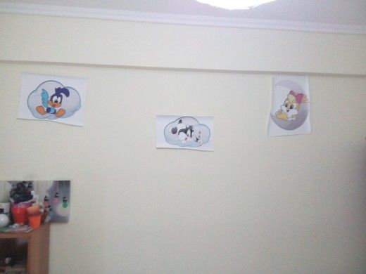 Wall lights @ baby room