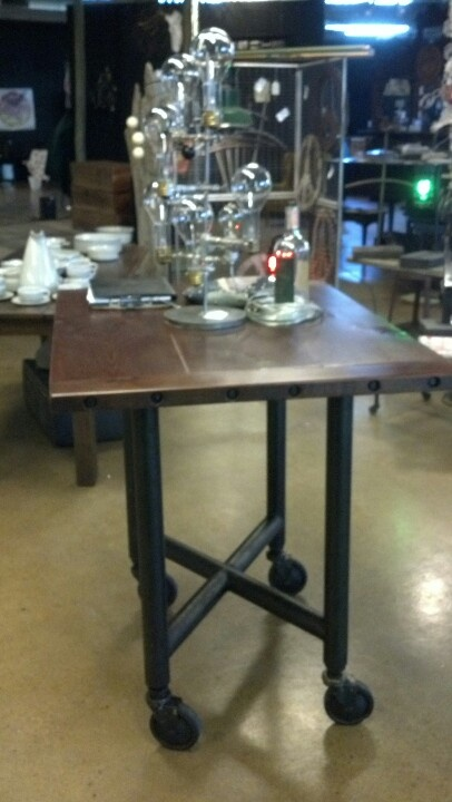 17 best images about industrial furniture designs on for Kitchen table base ideas