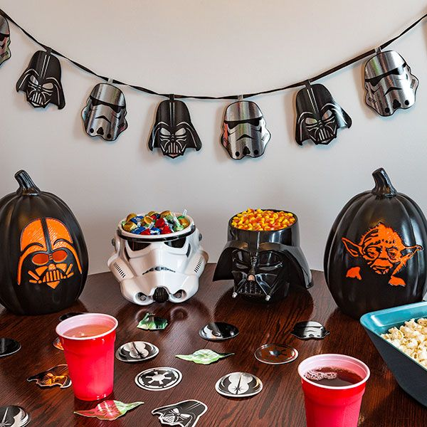 Star Wars Darth Vader, Yoda and Stormtrooper Halloween and Party Supplies