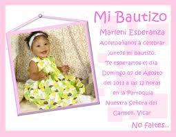 Resultado de imagen para invitaciones de bautismo para imprimir