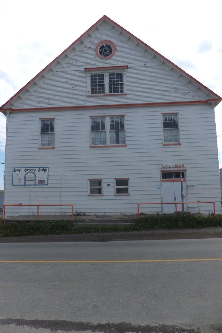The old Orange Lodge, Twillingate
