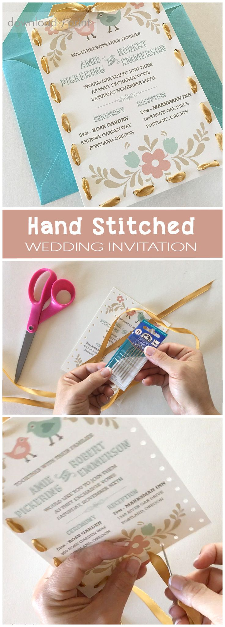 52 best DIY Invitation Tutorials images on Pinterest Invitations