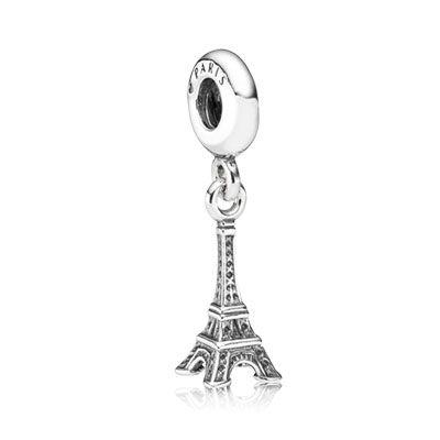 Pandora - Eiffel Tower Silver Dangle (#791082)