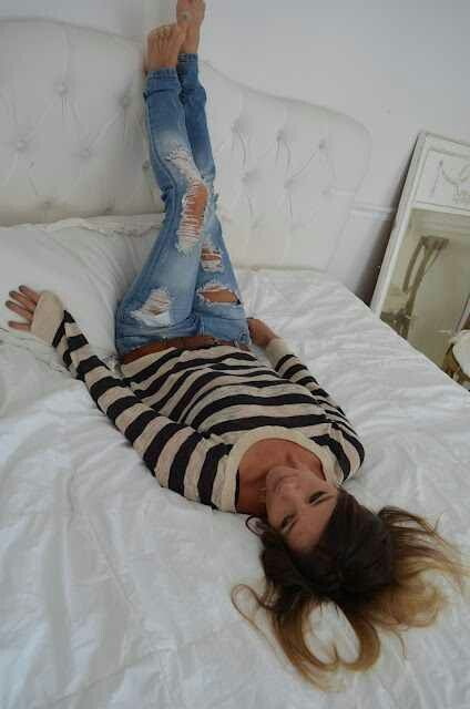Ripped Jeans. Teen Fashion. By- Lily Renee♥ (iheartfashion14)