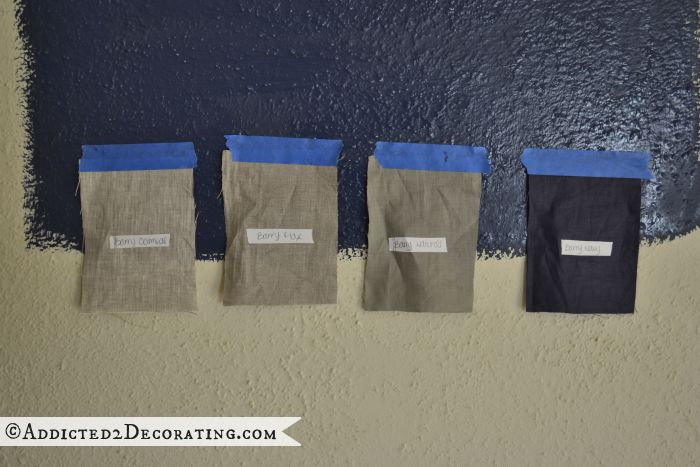 ... - Blauw Kookeiland, Blauwe Keukenkastjes en Gekleurde Keukenkasten