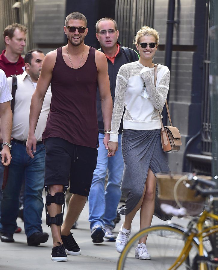 Pin for Later: Toni Garrn Rebounds From Leonardo DiCaprio With a Hot NBA Star