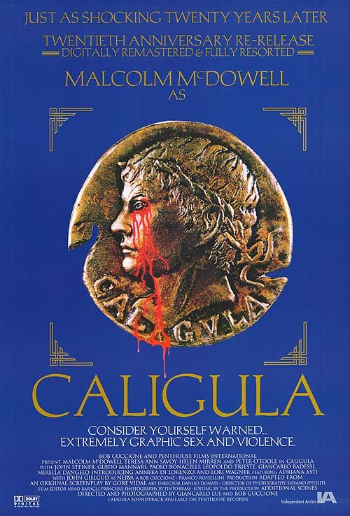 Caligula - Details the graphic and shocking, yet undeniably tragic story of Rome's most infamous Caesar, Gaius Germanicus Caligula.