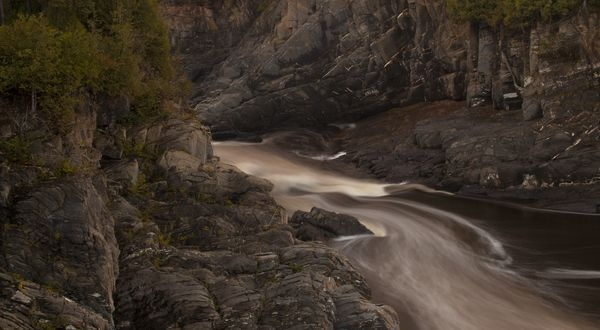 Grand Falls Gorge, Grand Falls, New Brunswick Canada