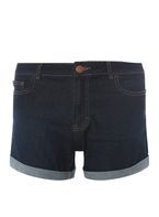 Womens Indigo Shorts- Blue