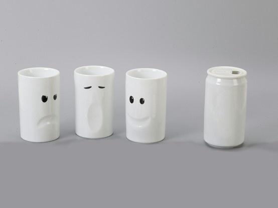 Divertidos Mugs de cerámica